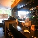 初かすみ酒房 - 店内(カウンター席)
