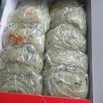 萬屋 - 25日だけはよもぎ入りの梅が枝餅が「天神さまの日」限定の特別メニューで販売されてるんです。