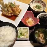和食バル 音音 - 揚げ出し豆腐と湯葉のランチ