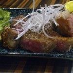 52032374 - 佐賀牛の黒胡椒焼き