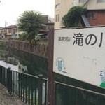 みのかん - 目の前を流れる川