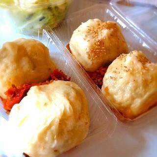 台湾の焼き包子 包包亭