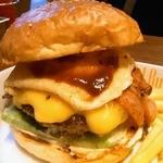 Island Burgers - ベーコン・エッグ・チーズバーガー 1390円