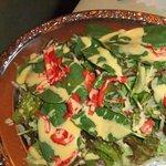 マユール - ほうれん草のサラダ