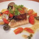 キッチンタク - 鯛とアサリのアクアパッツァ
