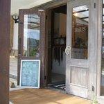 Hamburger Cafe UNICO - SHOP入口(雑貨屋さん側)