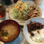 とんかつ三太 - 生姜焼き定食