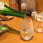 切麦や甚六 - 秀鳳 純米大吟醸 出羽燦々 磨き三割三分 生原酒