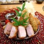 52045661 - 初夏香る・夏野菜のミックスフライ定食
