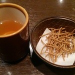 52046512 - セットの蕎麦茶と蕎麦かりんと