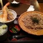 52046519 - 天丼とざる蕎麦 税込1000円