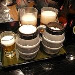 加賀屋 - 一見普通のビール(中瓶/\630-)ですが…