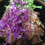 金澤屋牛肉店 - ステーキ丼ダブル