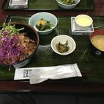 金澤屋牛肉店 - ステーキ丼ダブル@1,700円
