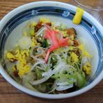 麺や 福座 - 2016年6月5日(日) トンガリ丼(250円)