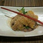 Happouembanketto - 秋刀魚のサクサク揚げ リゾットを添えて
