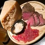 花朝月夕 - 生ハム&チーズプレート