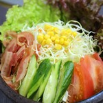 焼肉ハウス21 - グリーンサラダ