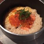 駿 - 釜飯【鮭といくら※秋季限定】
