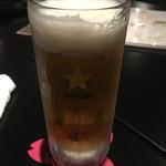居酒屋あげは - まずは生ビールから…^^