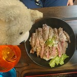 Hawaiian diner HONU - サーロインステーキ丼