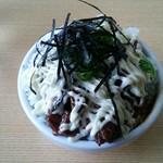 中華そば 田村 - 豚めし(小)+からしマヨネーズ(トッピング)(単品)