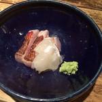 Yuuduki - お刺身 金目鯛・ひらめ