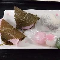 松屋清風庵 - 春の生菓子