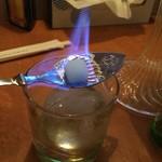 Ritmo - アブサンスプーンで着火