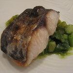 IL BRACINO - 魚料理 サワラの炭火焼き