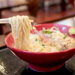 鶏そば - 麺は極細系 '16 4月中旬