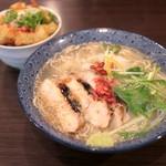 鶏そば - ゆず塩鶏そば (690円) '16 4月中旬