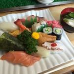 大市寿司 - 寿司定食(750円)