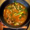 ごん蔵 - 料理写真:スパイシー カレーうどん                                                                            黒毛和牛とたっぷり九条葱