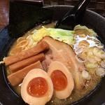 52077649 - 醤油ラーメン+味玉