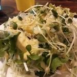 BARRIO - ランチのサラダ
