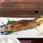 古仁志 - 料理写真:サンマ塩焼定食
