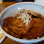 できる! - 料理写真:レギュラー豚丼750円