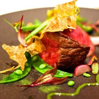 パリ仕込みのこだわり自家製熟成肉