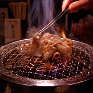 零温熟成ぷりぷり食感の仙台ホルモン