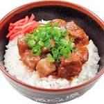 道とん堀 - 牛スジご飯