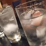 小樽 - otaru:焼酎の水割り