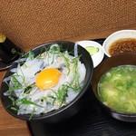 ごはん処 藤井堂 - 極 海鮮丼<税込>700円(2016.06.10)