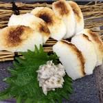 和菜 やなぎ  ふぐ はも - 炙りすぼ