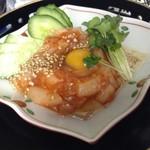 和菜 やなぎ  ふぐ はも - ホタテユッケ