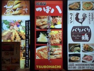 つぼ八 赤羽駅前店 - tubohati:看板