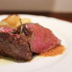 リストランテ ネグラマーロ - 愛知産 和牛ランプ肉のロースト☆