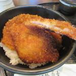九頭龍蕎麦 - 「ソースかつ丼」