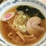 あしかがフラワーパーク 軽食コーナー - 佐野ラーメン(700円)