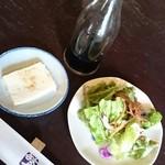 52091732 - サラダ&くみあげ豆腐♪